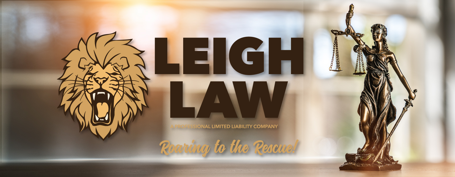 Home of Leigh Law. Roaring to the Rescue!