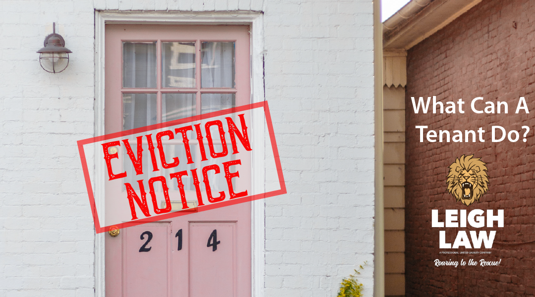 Eviction: What Can A Tenant Do?