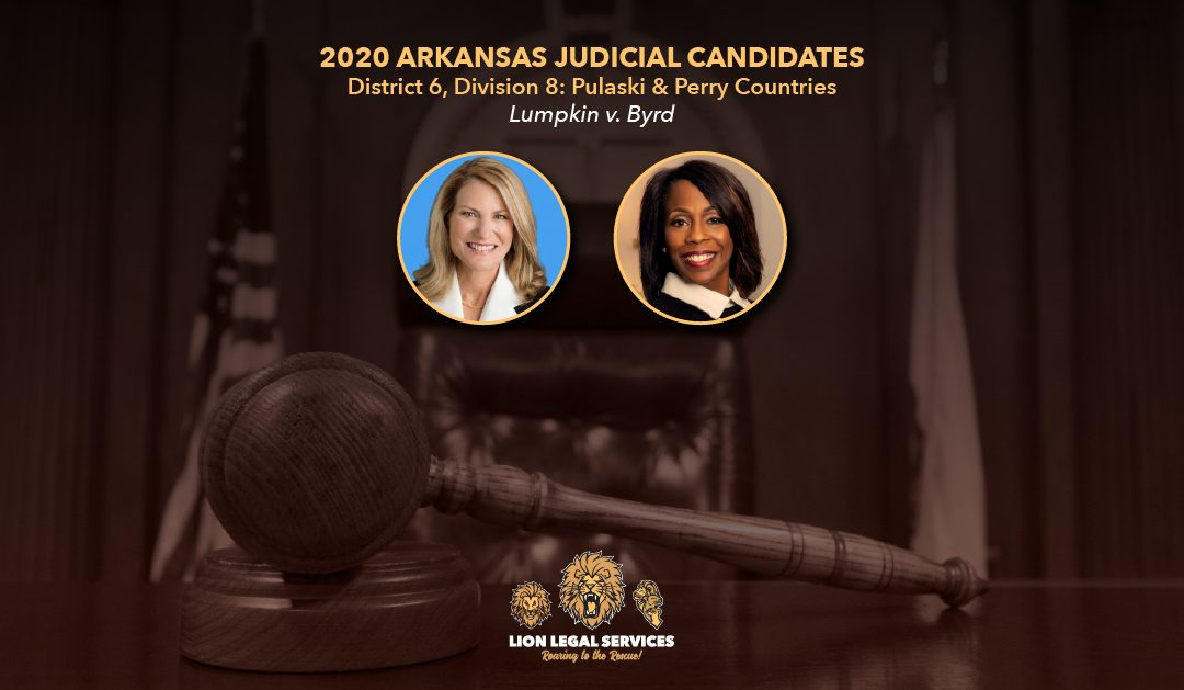 2020 Judicial Candidates: AR Dist. 6, Div.8