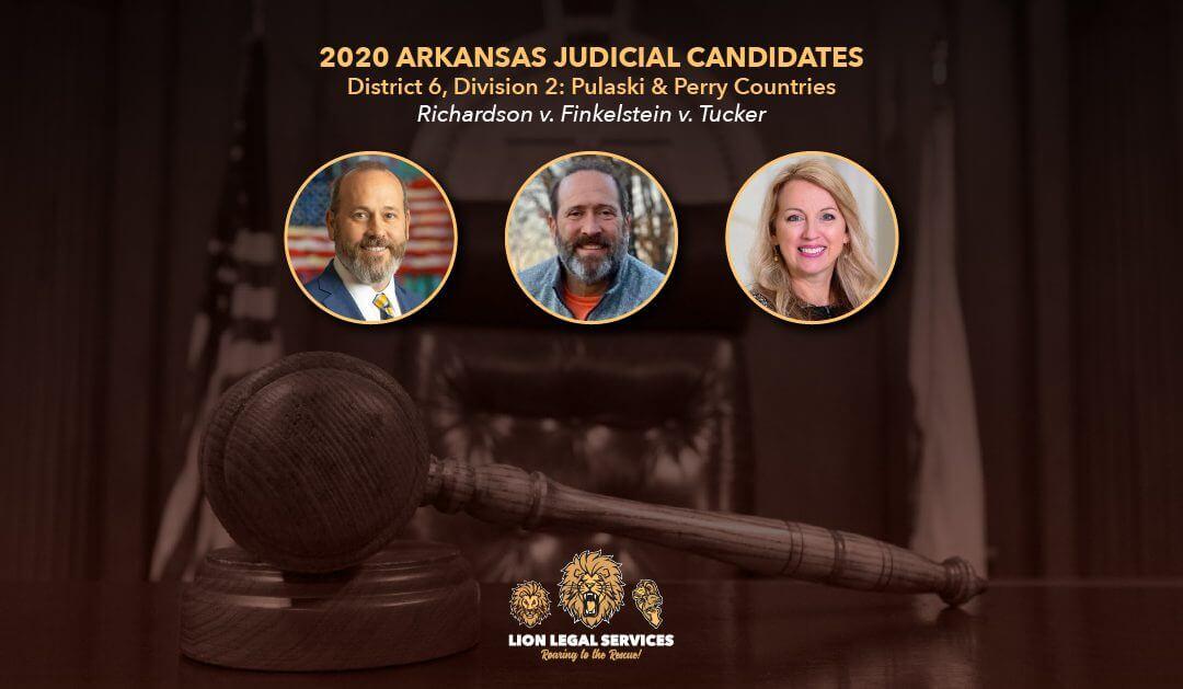2020 Judicial Candidates: AR Dist. 6, Div. 2